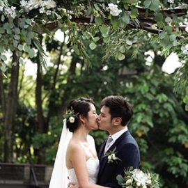 Jay & Caryn – Garden Wedding Highlights // Gita Bayu // Same Day Edit
