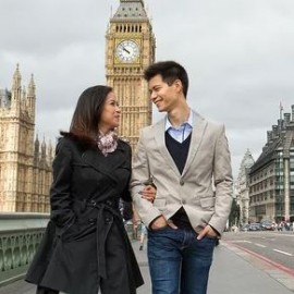 Quan Wei & Gretch – London Pre-Wedding